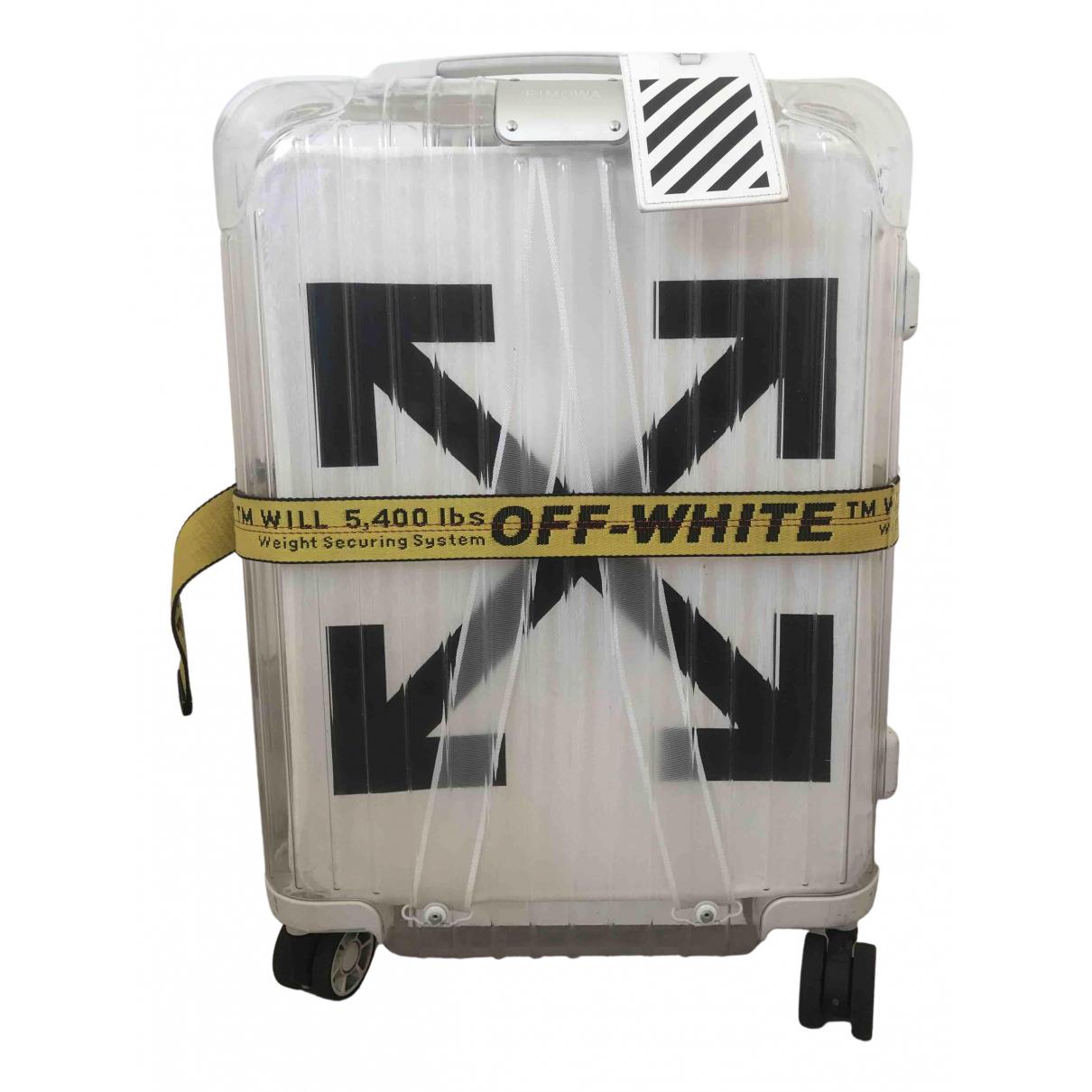 Viajes Rimowa X Off-white