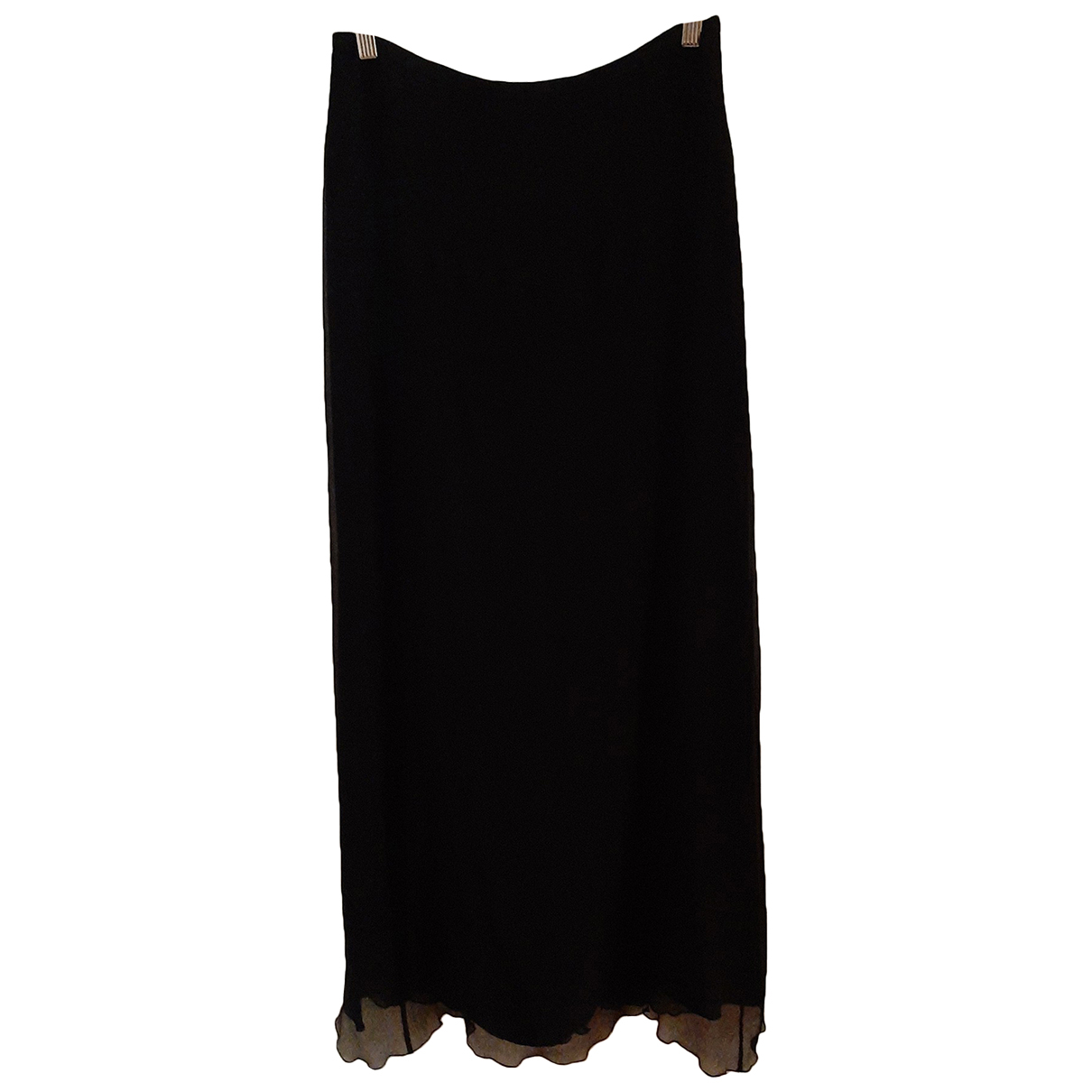 La Perla N Black Silk skirt for Women 46 IT