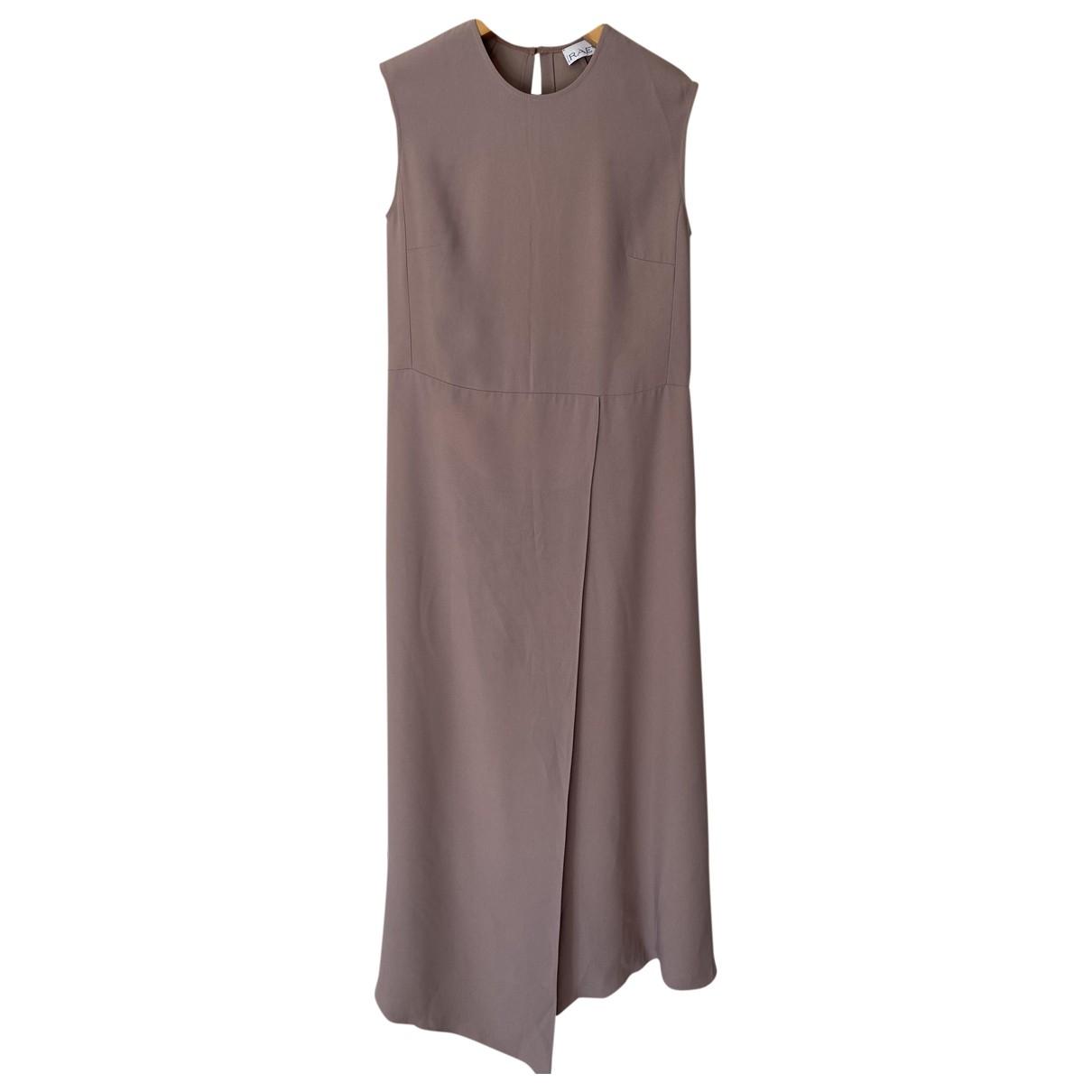 Raey \N Kleid in  Rosa Viskose