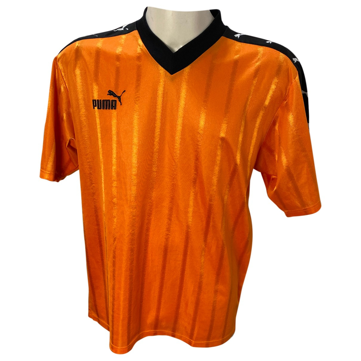 Puma - Tee shirts   pour homme - orange