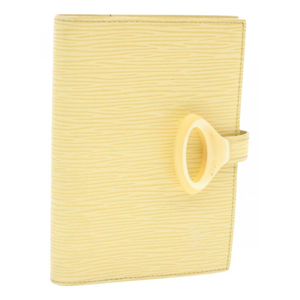 Louis Vuitton - Objets & Deco   pour lifestyle en cuir - beige