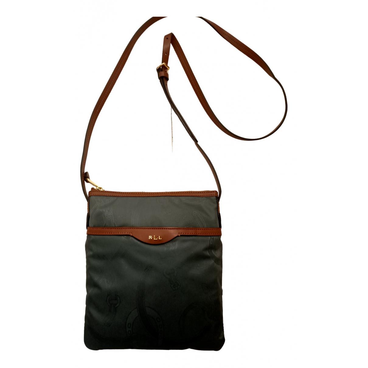 Lauren Ralph Lauren \N Grey Cotton handbag for Women \N