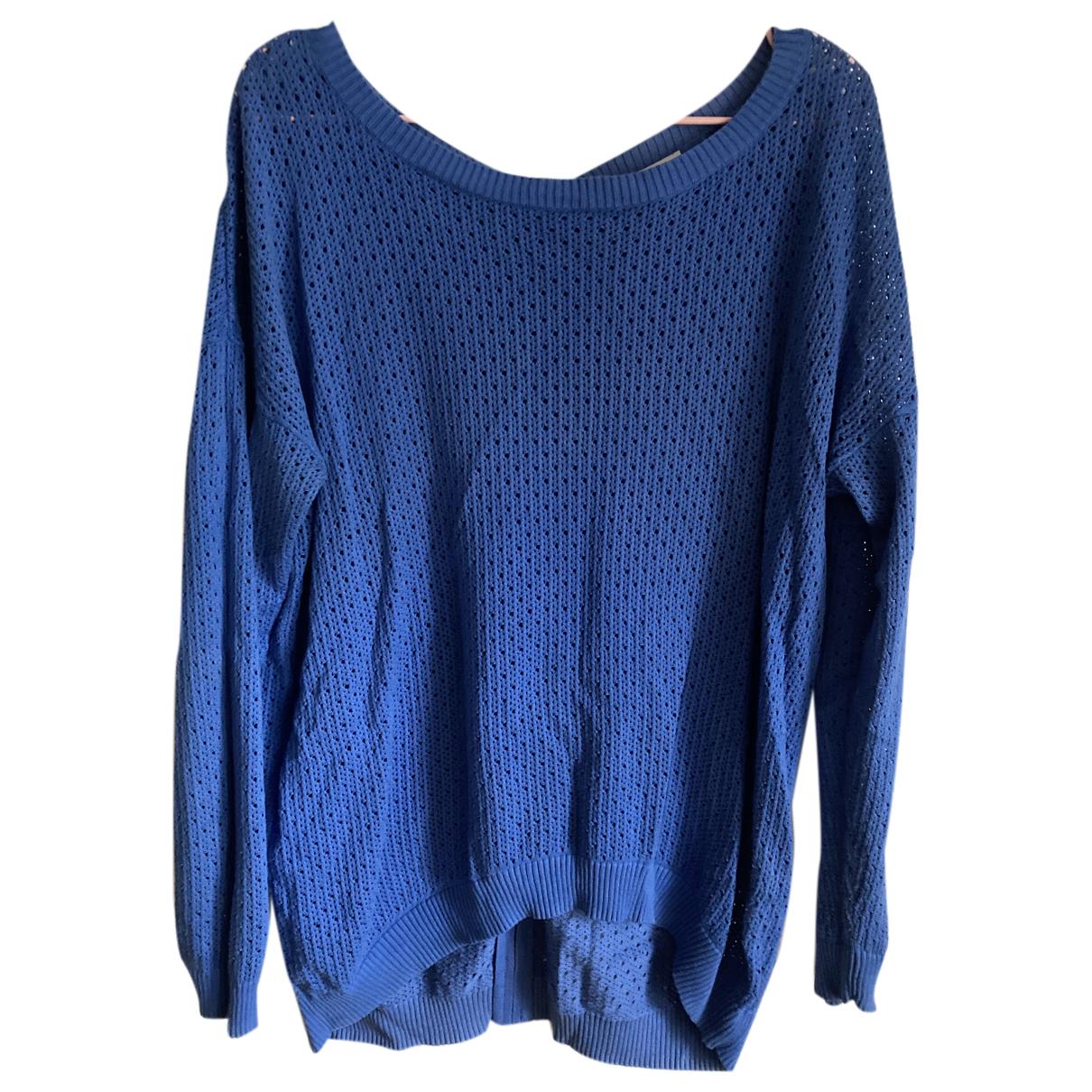 Sandro N Blue Cotton Knitwear for Women 3 0-5