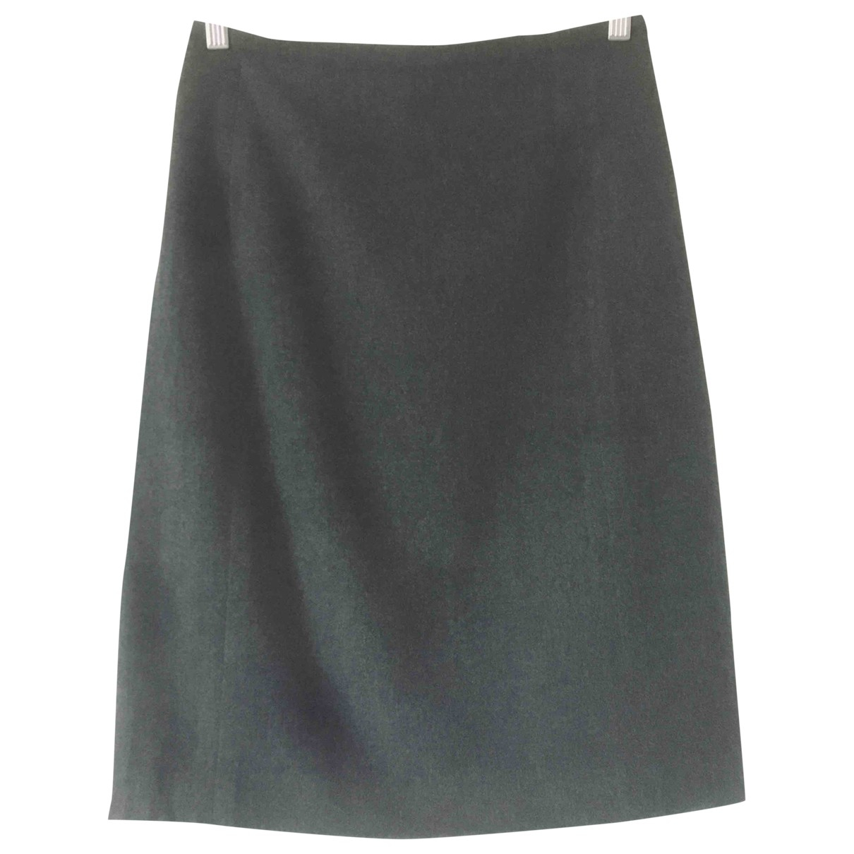 Jil Sander - Jupe   pour femme en laine - gris