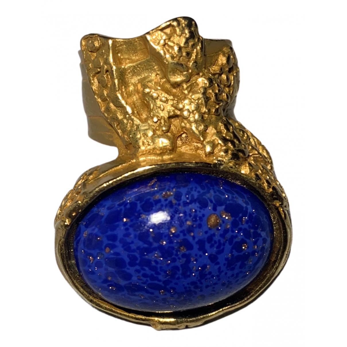 Yves Saint Laurent Arty Ring in  Gold Vergoldet