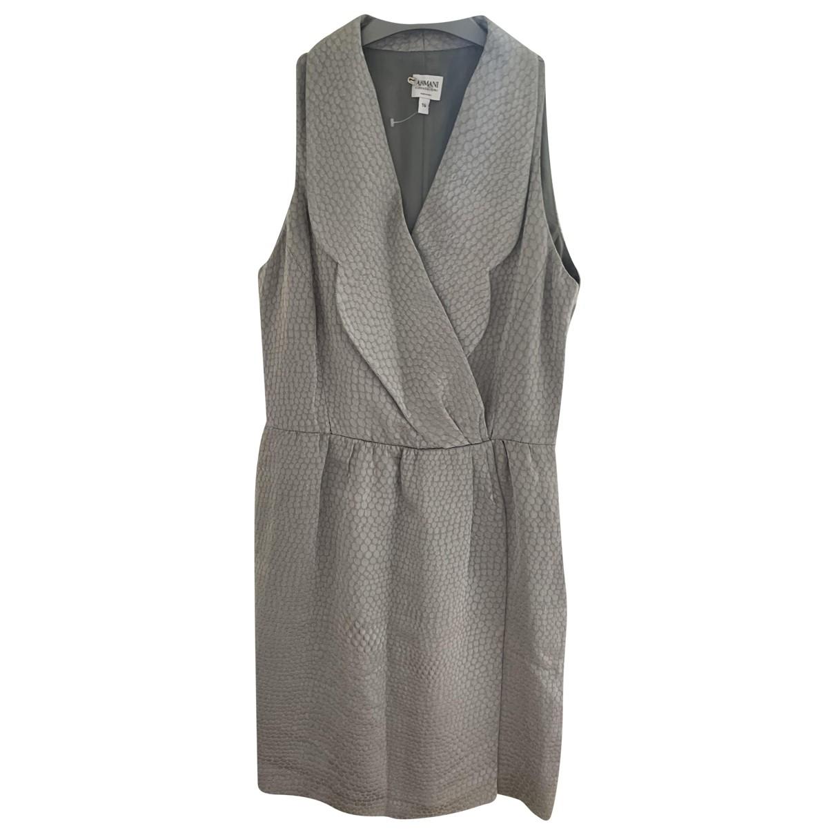 Vestido midi Armani Collezioni