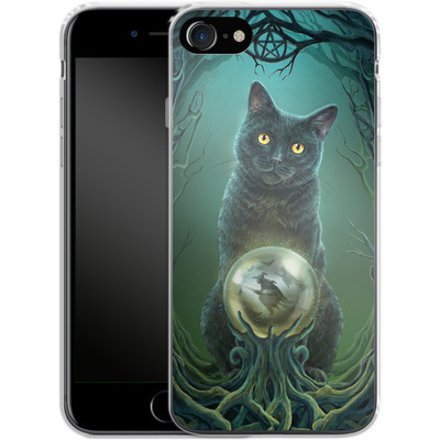 Apple iPhone 8 Silikon Handyhuelle - Rise of the Witches von Lisa Parker