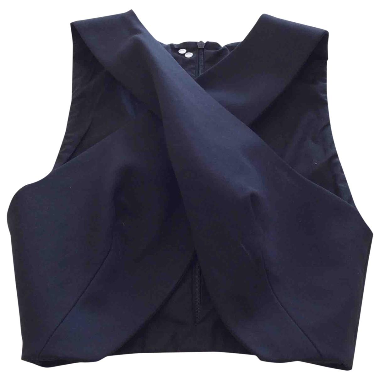Dondup \N Black Cotton  top for Women 40 IT