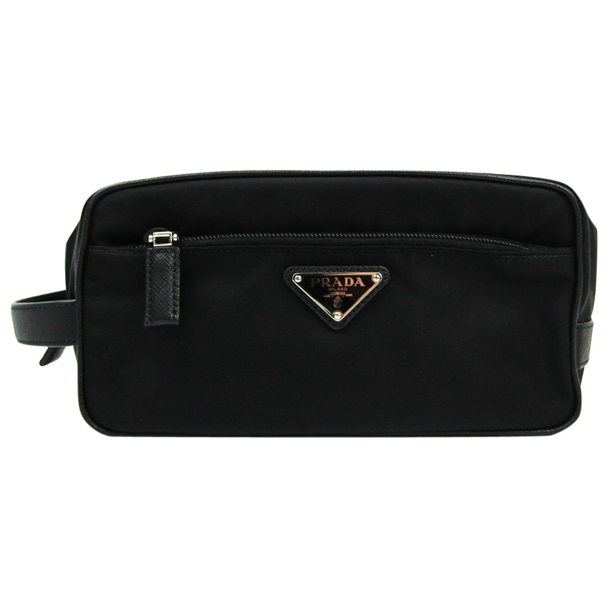 Prada N Black Leather bag for Men N