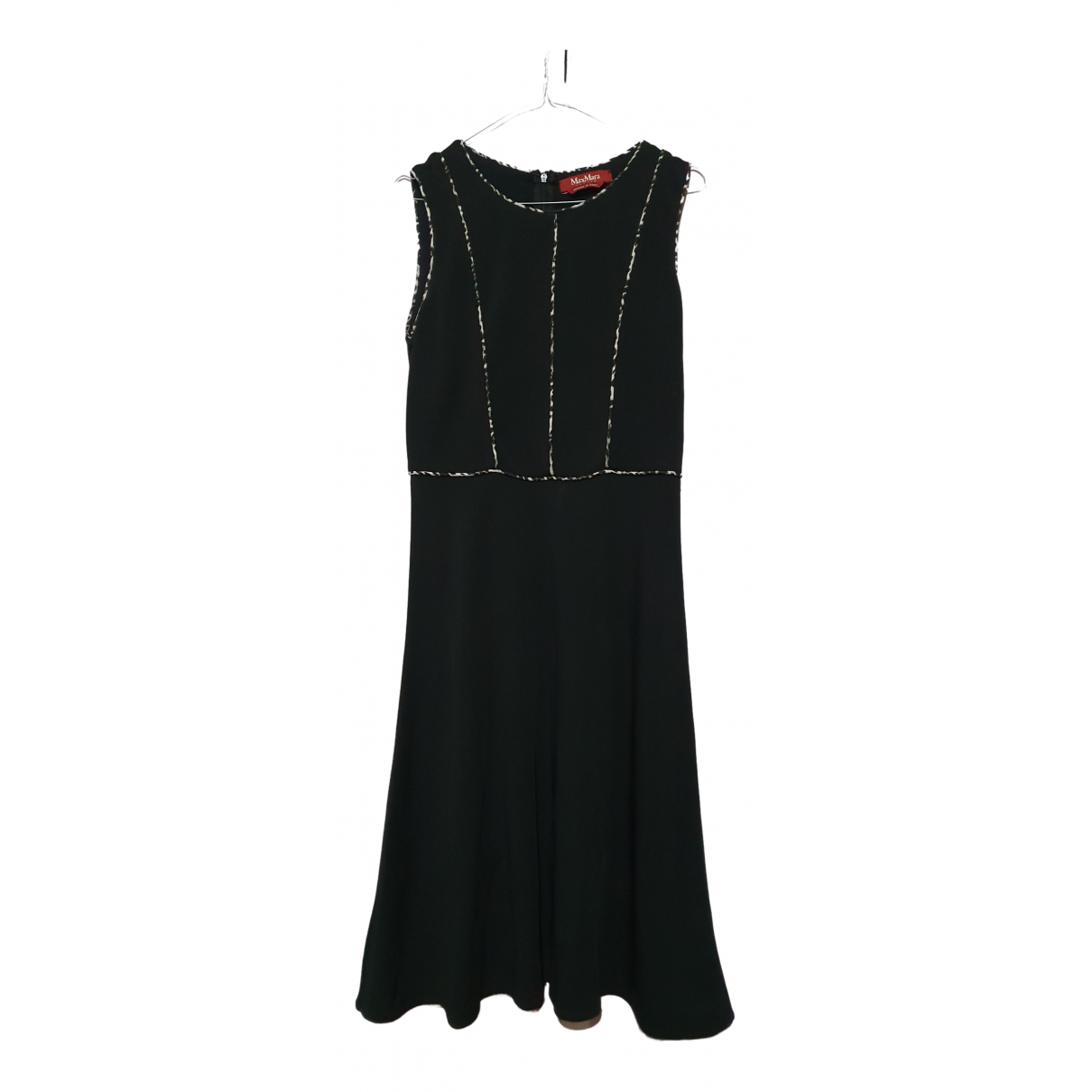 Max Mara Studio \N Kleid in  Schwarz Polyester