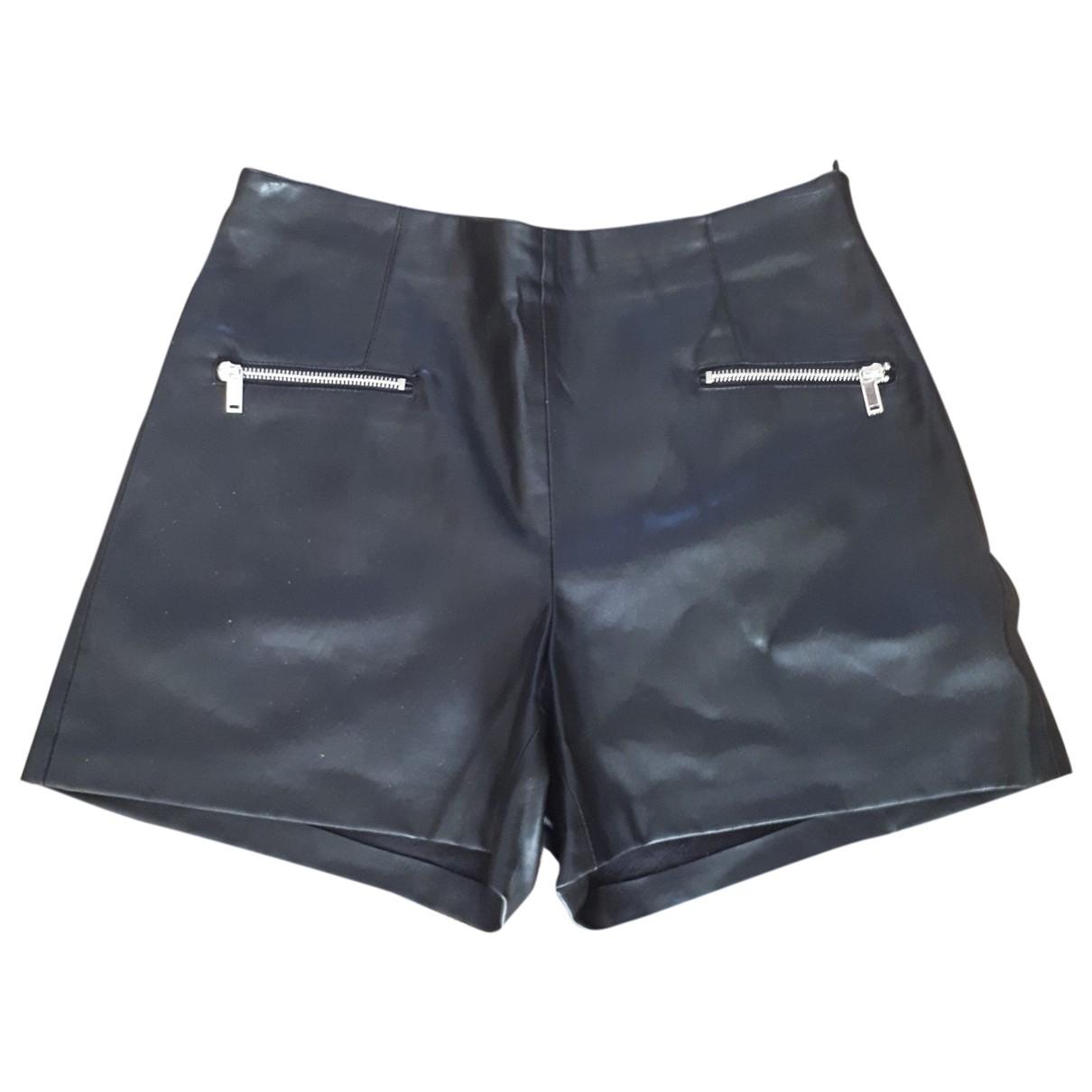 Zara \N Black Shorts for Women 46 FR
