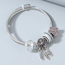 Armband mit Schmetterling Dekor
