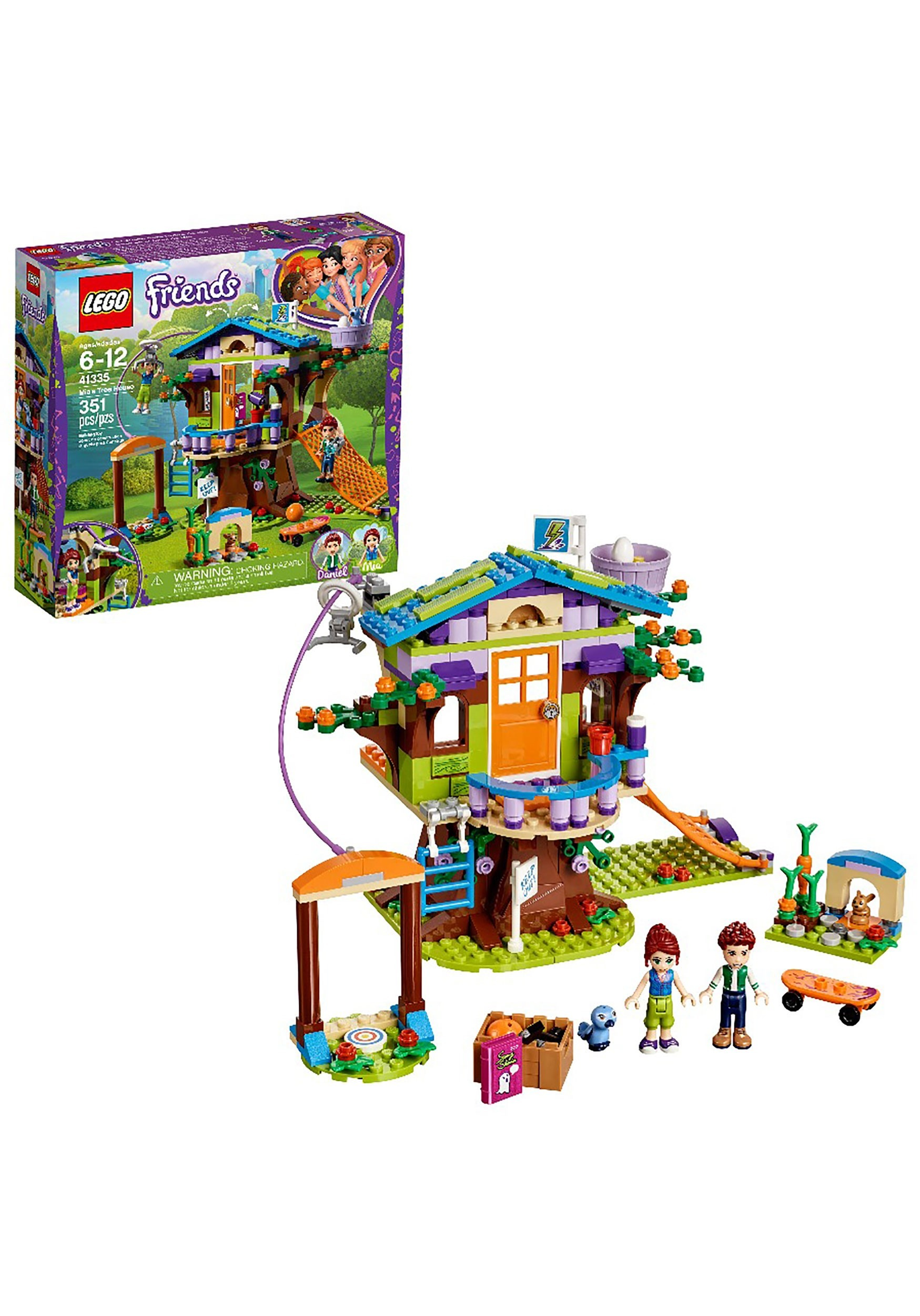 LEGO Friends 351pc Mia's Tree House Building Set