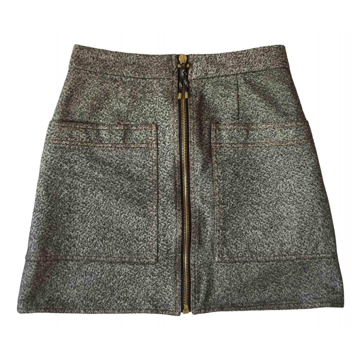 Acne Studios \N Multicolour Cotton skirt for Women 38 FR
