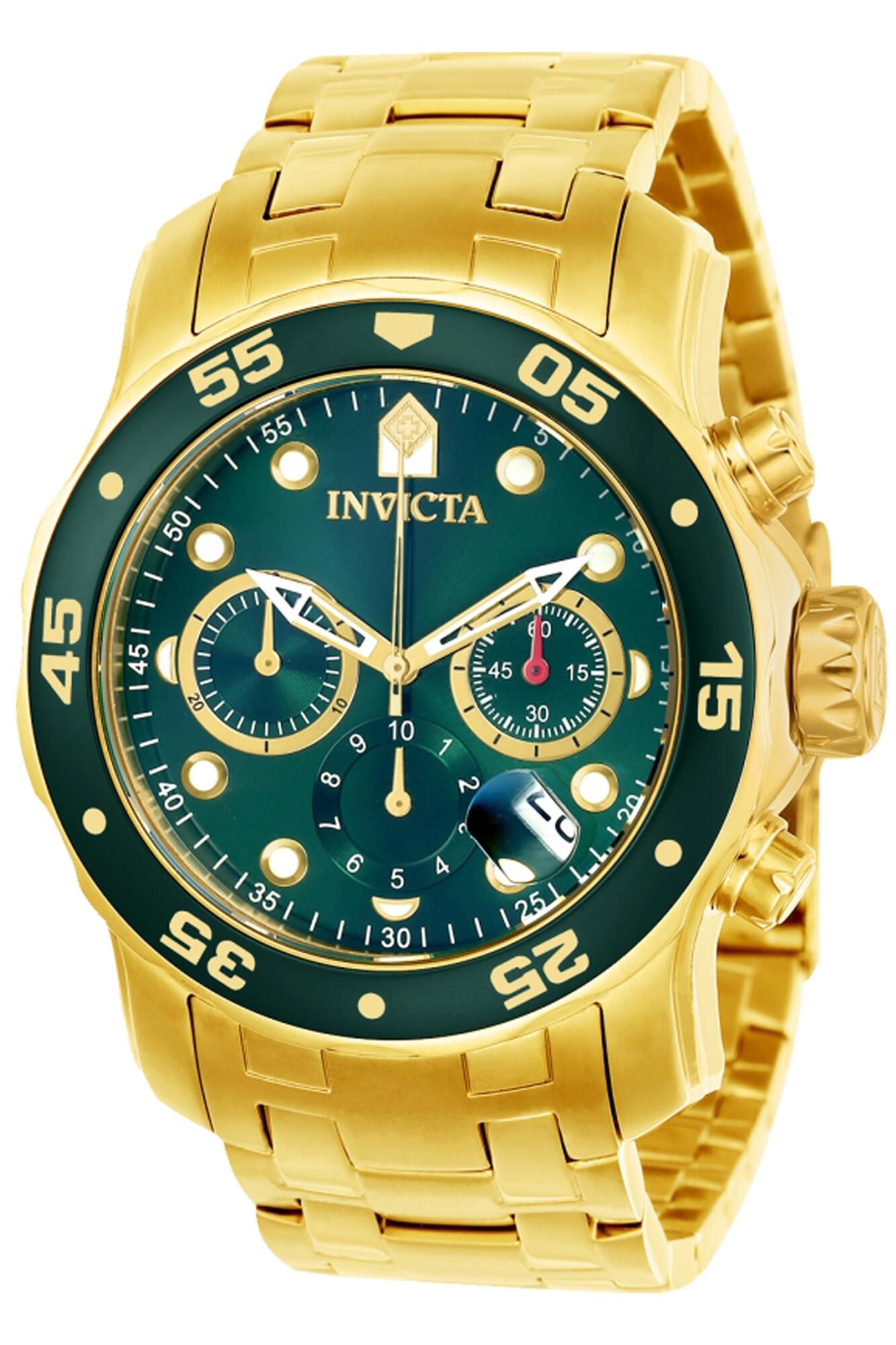 Invicta Men's Pro Diver 21925 Gold Stainless-Steel Quartz Diving Watch