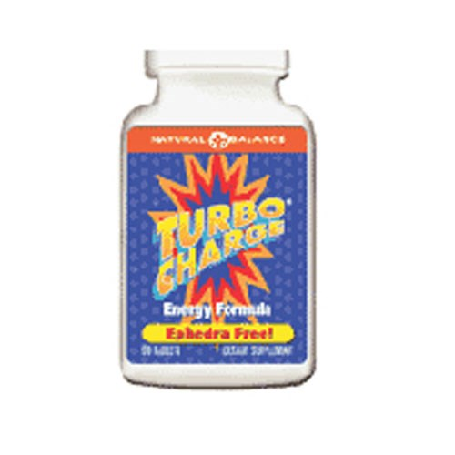 Turbo Charge Energy Formula Ephedra Free 60 tabs by Natural Balance (Formerly known as Trimedica)