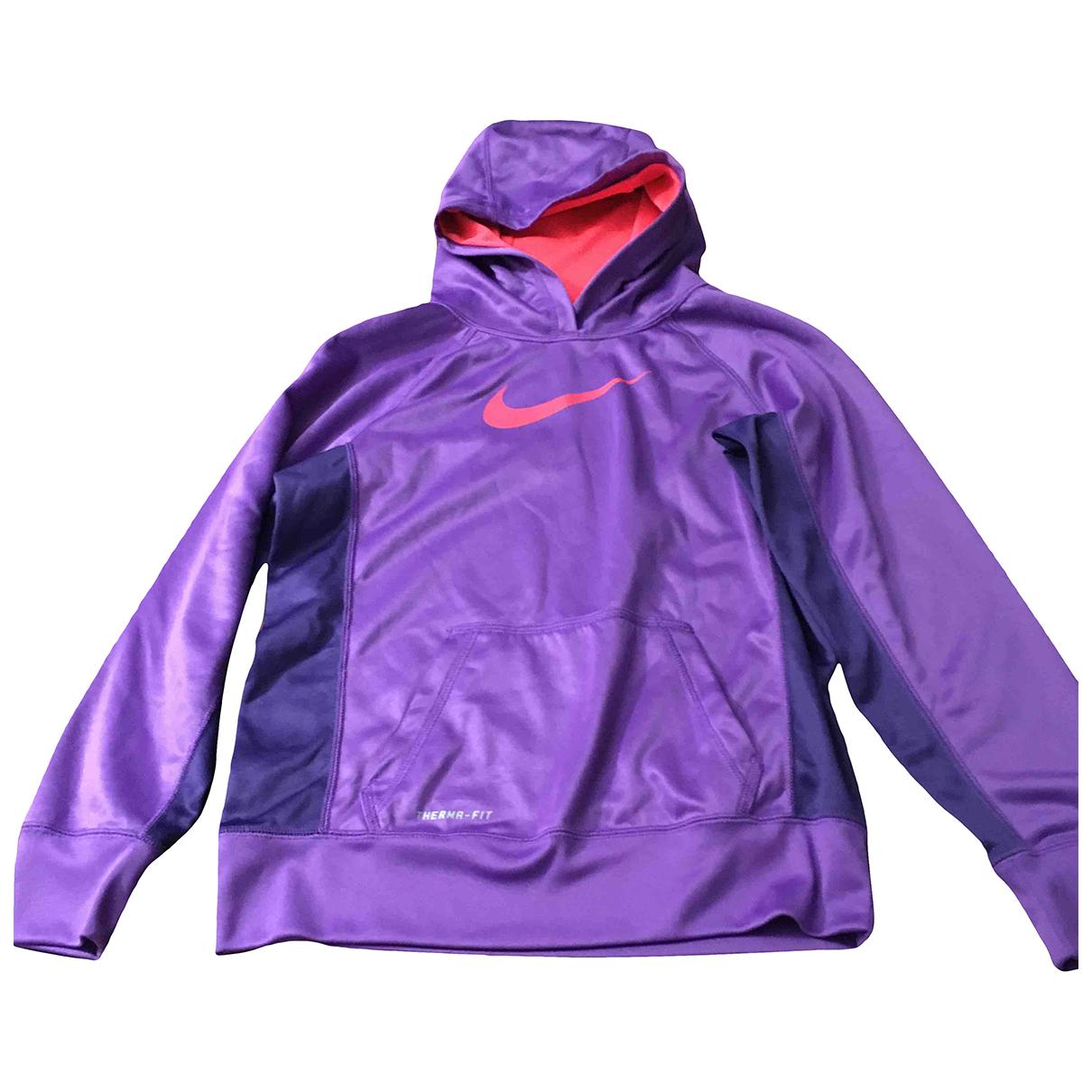 Nike - Blousons.Manteaux   pour enfant - violet