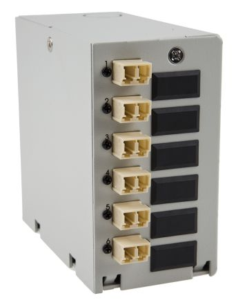 RS PRO 6 Port LC Multimode Duplex Demarcation Box