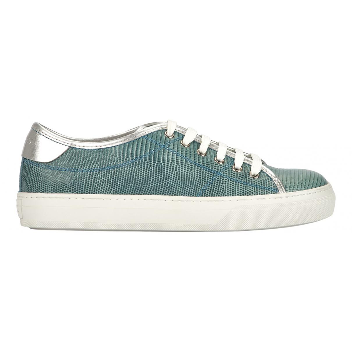 Tods \N Sneakers in  Blau Leder