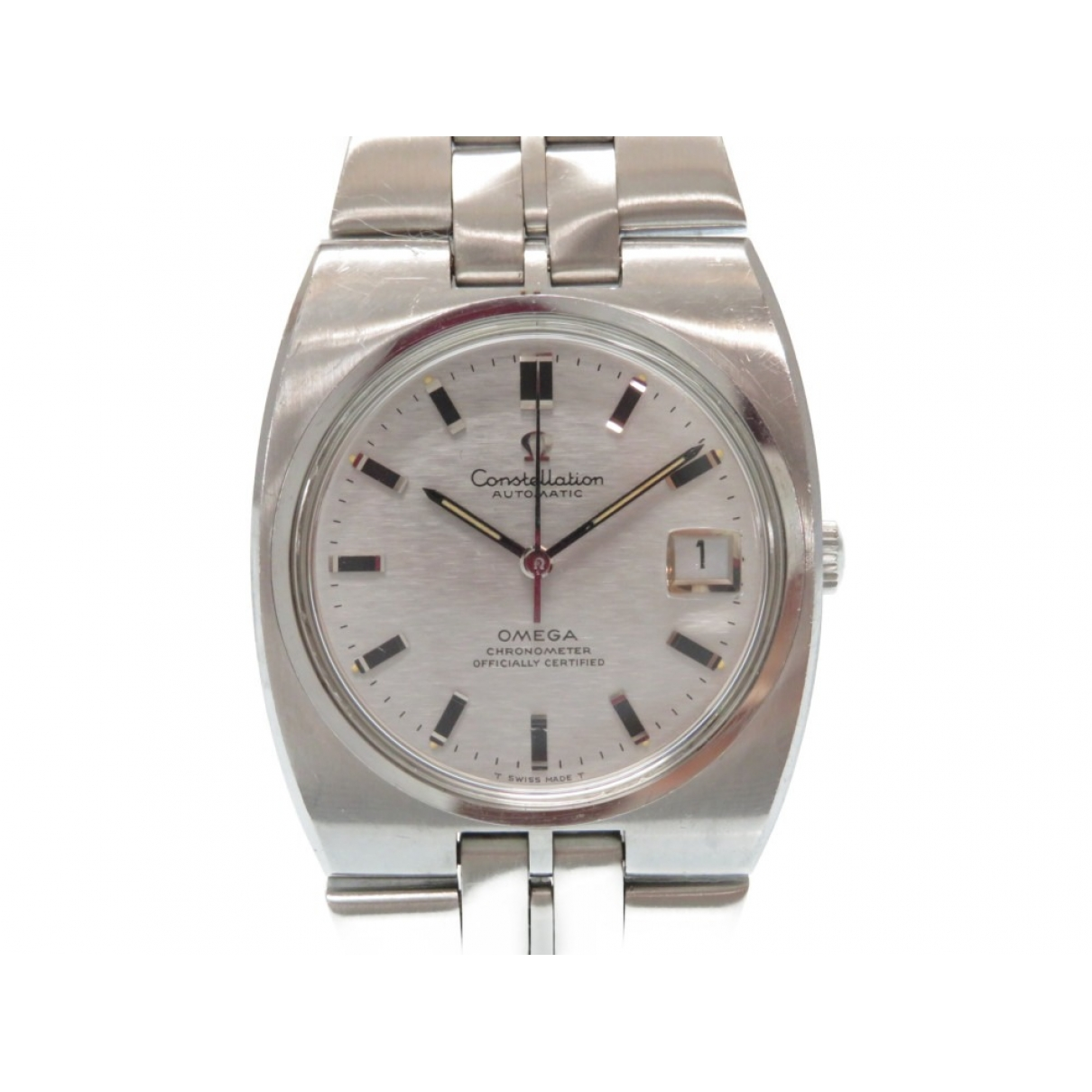 Omega Constellation Silver Steel watch for Men \N