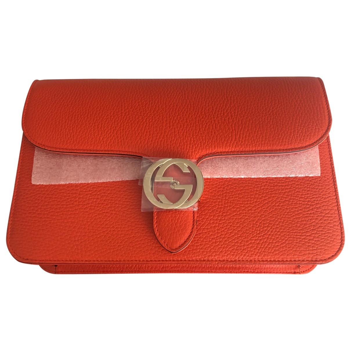 Bolso  Interlocking de Cuero Gucci