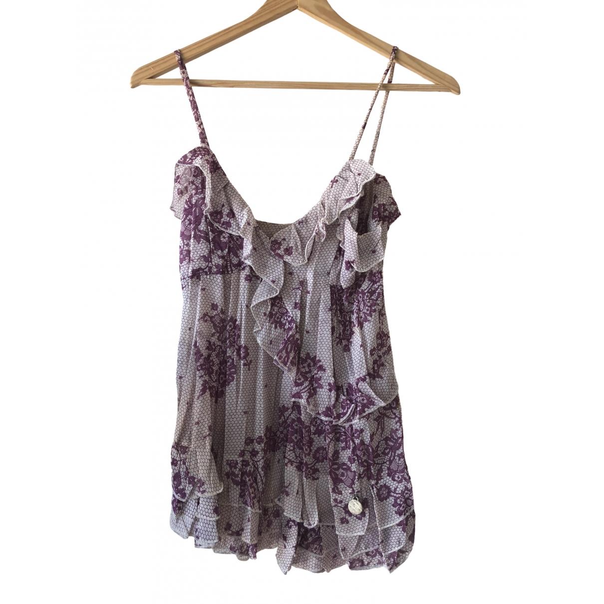 Galliano \N Purple  top for Women 40 IT