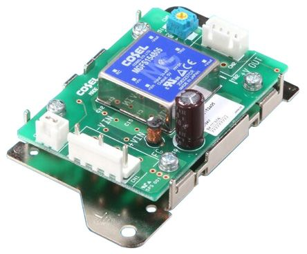 Cosel STMGFS 15W Isolated DC-DC Converter PCB Mount, Voltage in 18 → 76 V dc, Voltage out 5V dc