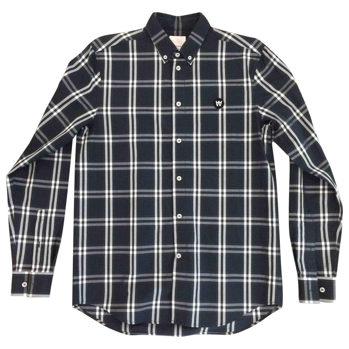 Wood Wood - Chemises   pour homme en coton - vert