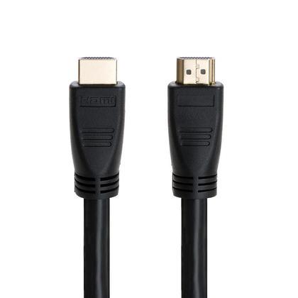 Câble HDMI® 24AWG CL2 standard avec Ethernet avec Amplificateur–noir–75pi