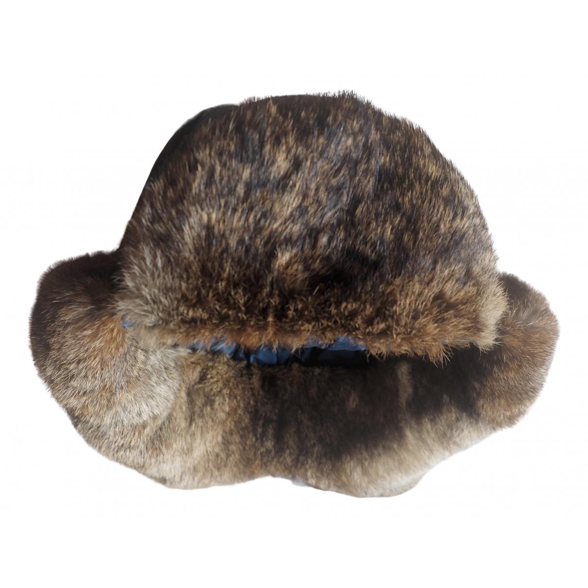 Woolrich \N Hut, Muetzen in  Schwarz Kaninchen