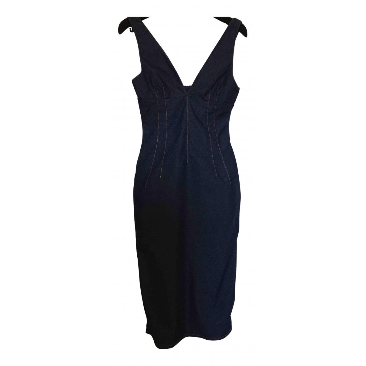 D&g \N Kleid in  Blau Denim - Jeans