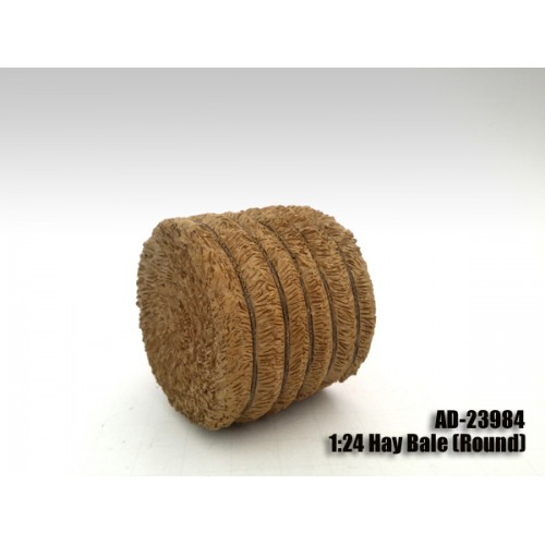 Hay Bale Round Accessory 124 Scale Models by American Diorama