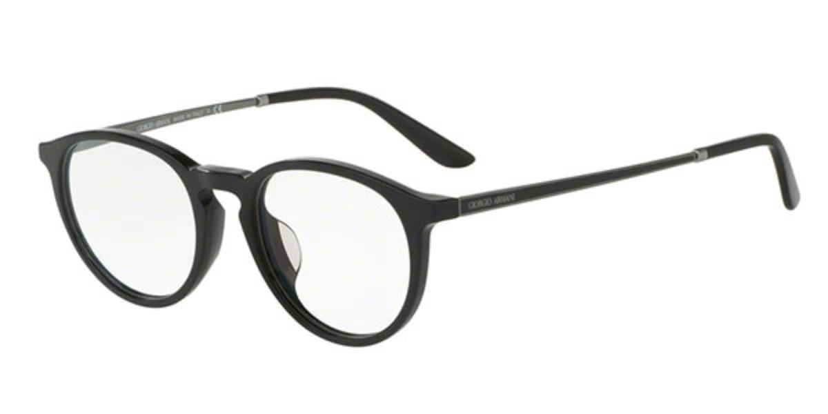 Giorgio Armani AR7118D Asian Fit 5017 Men's Glasses Black Size 49 - Free Lenses - HSA/FSA Insurance - Blue Light Block Available