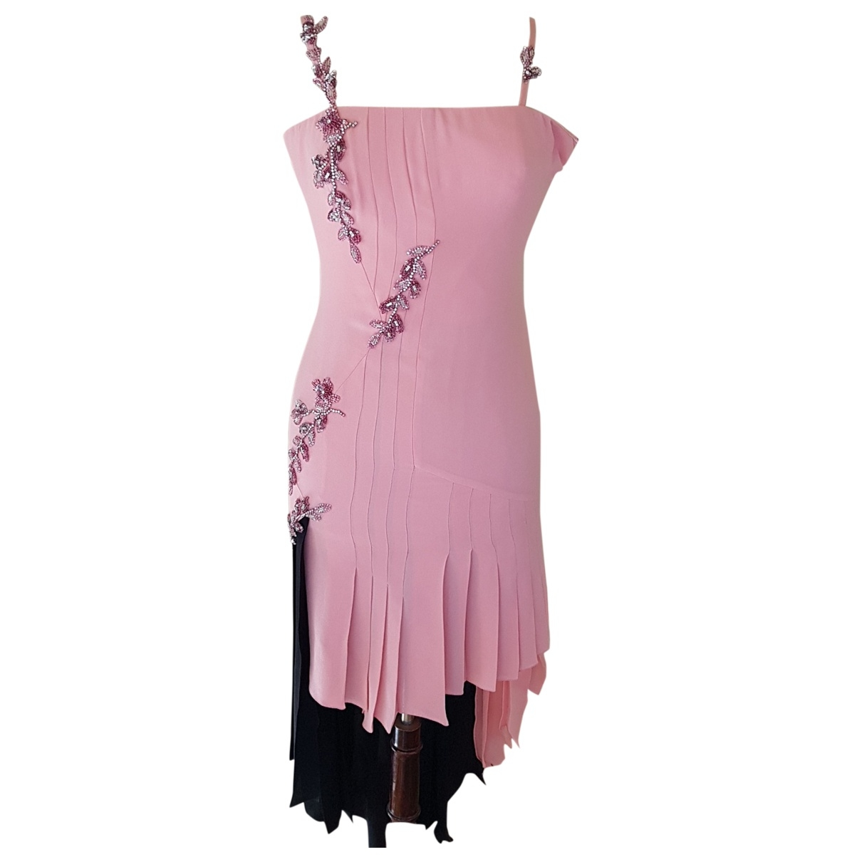 Gianni Versace \N Multicolour Silk dress for Women 40 IT