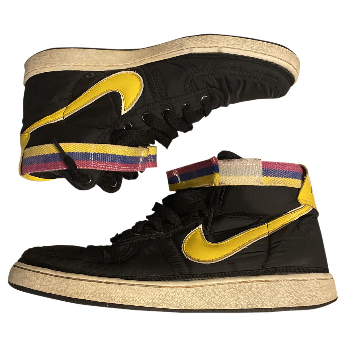 Nike - Baskets   pour homme en caoutchouc - noir