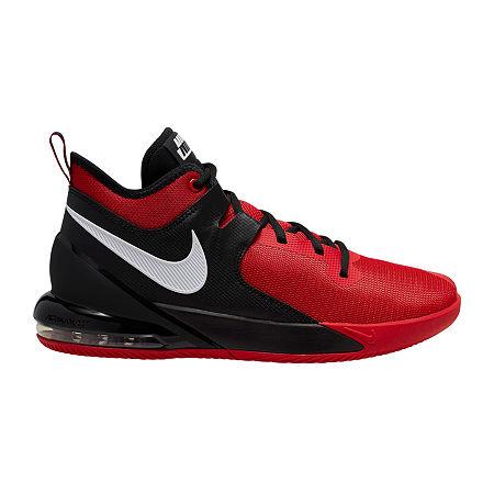 Nike Air Max Impact Mens Basketball Shoes, 8 1/2 Medium, Red