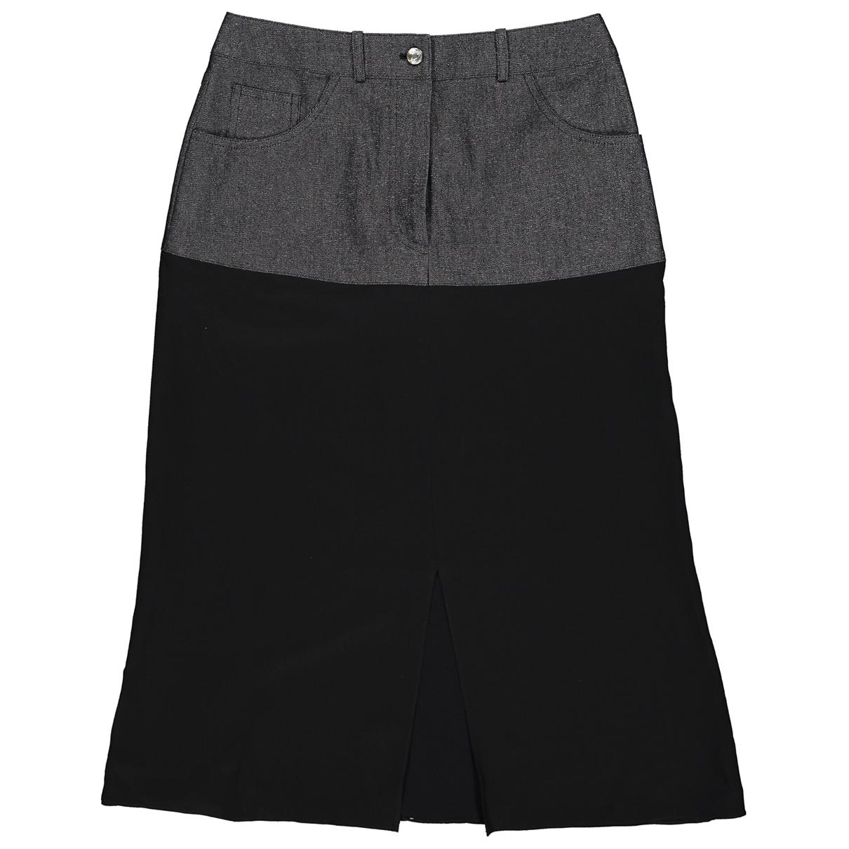 Dior - Jupe   pour femme en soie - noir