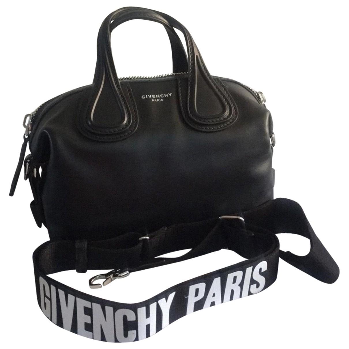 Givenchy Nightingale Handtasche in  Schwarz Leder