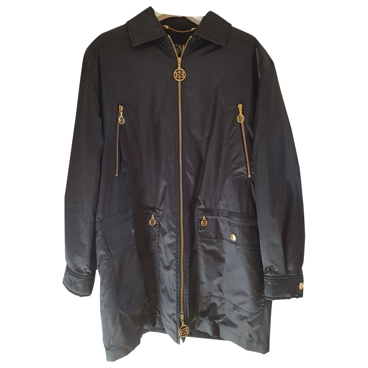 Escada - Manteau   pour femme en laine - noir