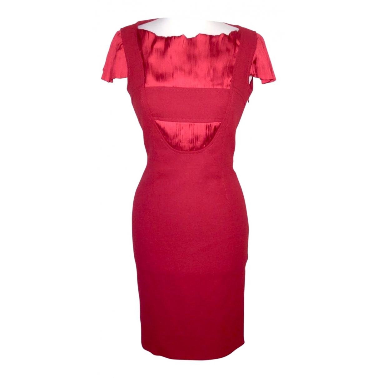 Dolce & Gabbana \N Kleid in  Rot Synthetik