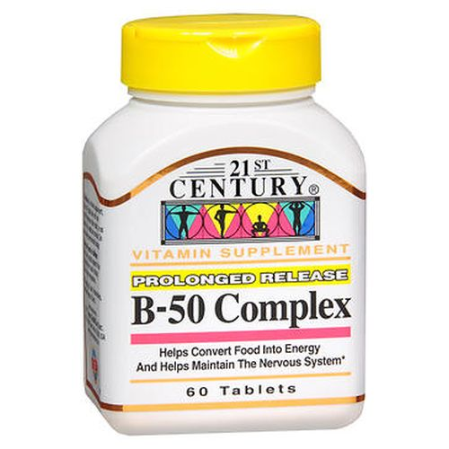B50 Complex Prolonged Release 60 Tabs by 21st Century