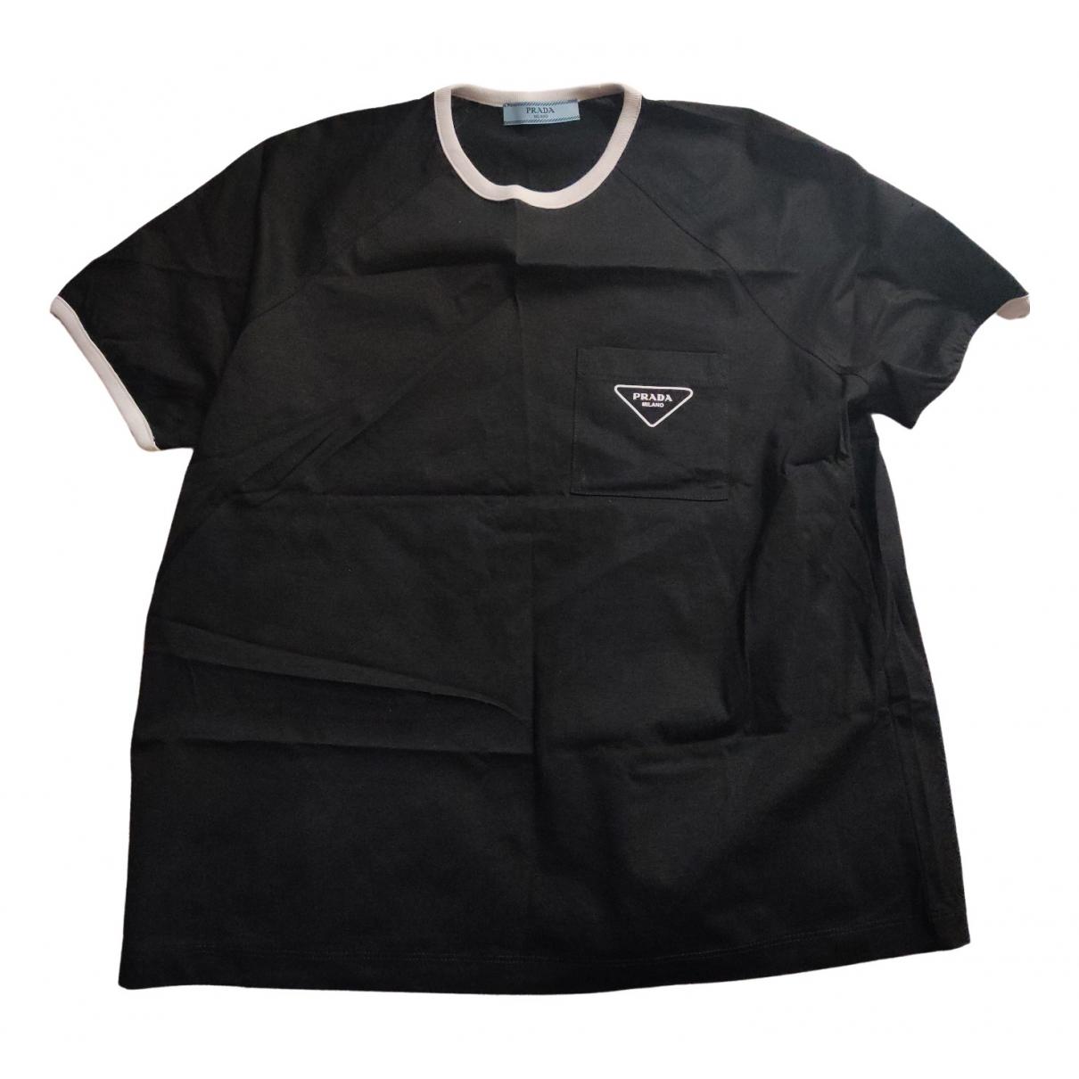 Prada \N Black Cotton  top for Women M International