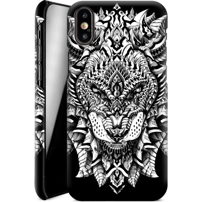 Apple iPhone X Smartphone Huelle - Ornate Lion von BIOWORKZ