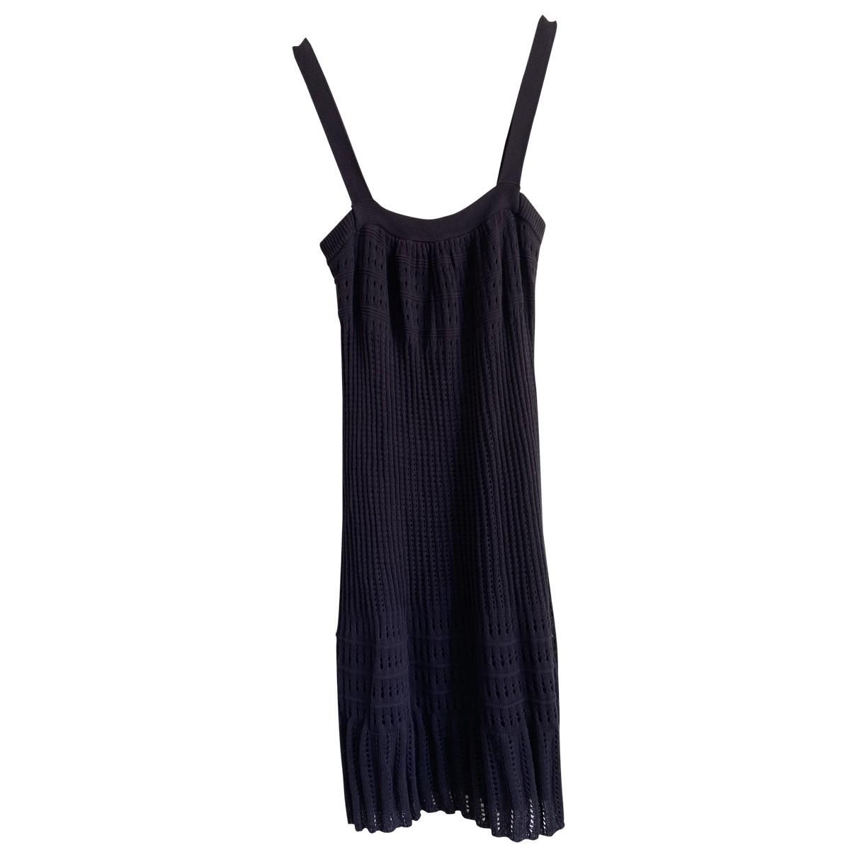 Jucca - Robe   pour femme en coton - bleu