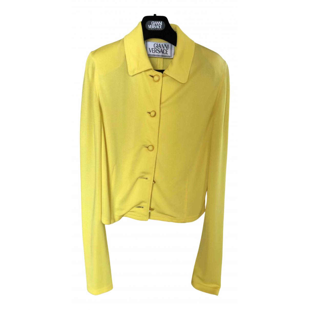 Gianni Versace - Veste   pour femme - jaune