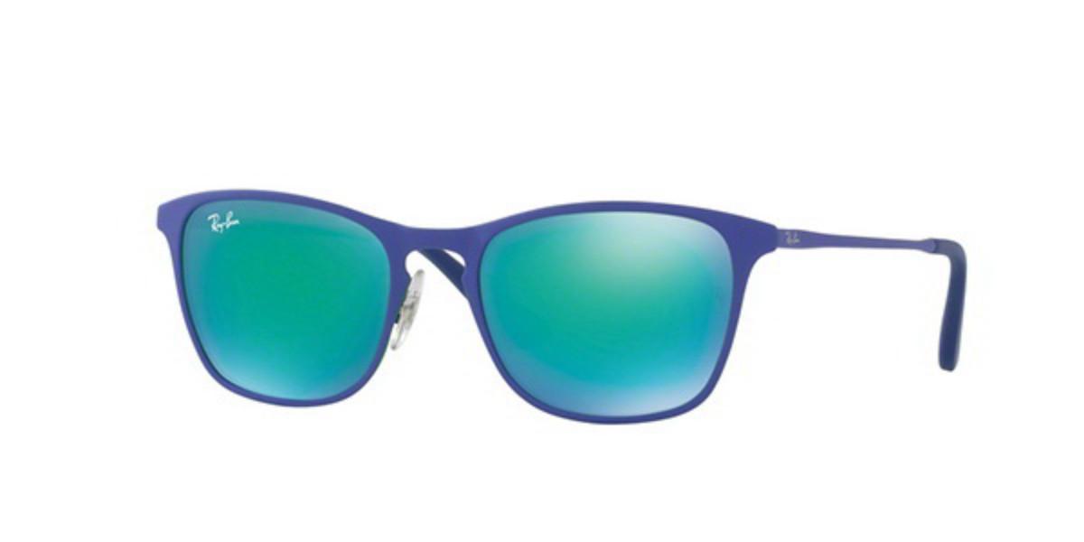 Ray-Ban Junior RJ9539S 255/3R Men's Sunglasses Green Size 48