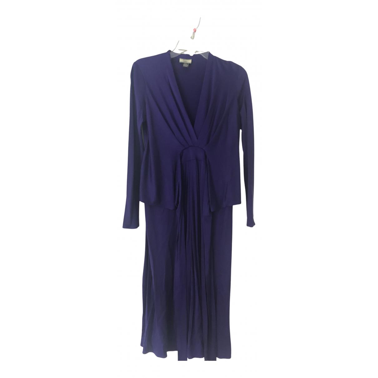 Issa \N Kleid in  Lila Seide