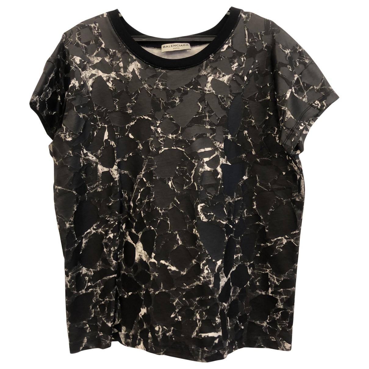 Balenciaga \N Anthracite Cotton  top for Women S