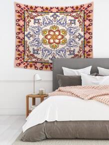 Vintage Flower Print Tapestry