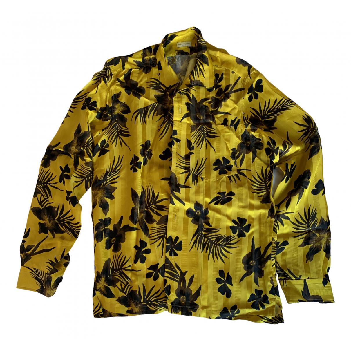 Dries Van Noten - Chemises   pour homme - jaune
